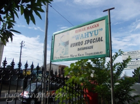 RM WAHYU - Konro Spesial - Batangase - Maros