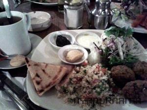 Middle east vegetarian Mezze